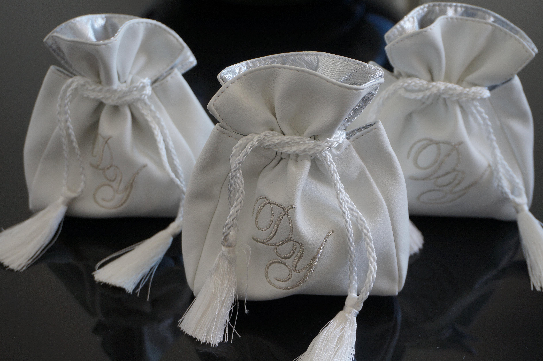 dragees kippa faire part mariage israel bourse simili cuir personnalisable - Kippa Mariage