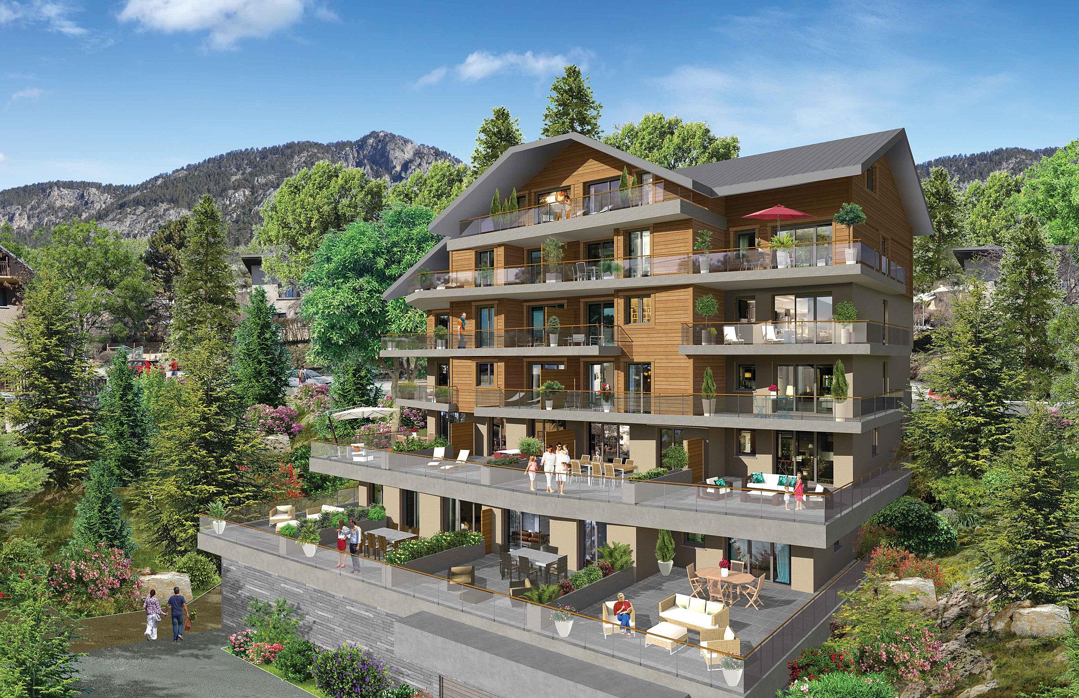 Coeur de ville appartement coquartier immobilier for Les terrasses en ville