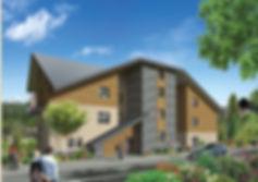 Les Terrasses du Lautaret, écoquartier de Briançon,