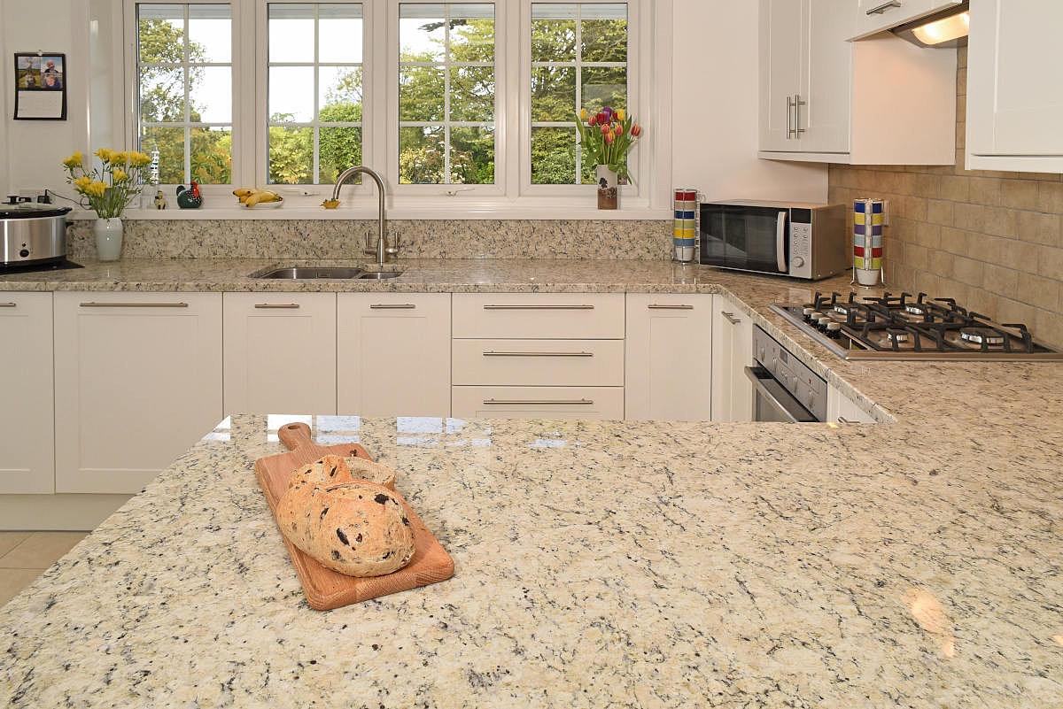 White Granite Kitchen Worktops Duke Stone Of Cornwall