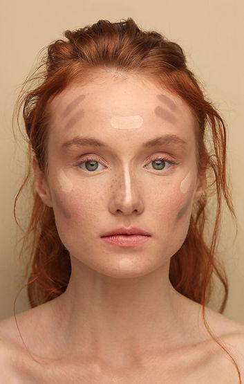 maquillaje Modelo