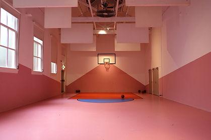 Cancha de baloncesto cubierta