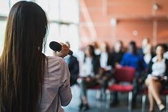 Female Presenter