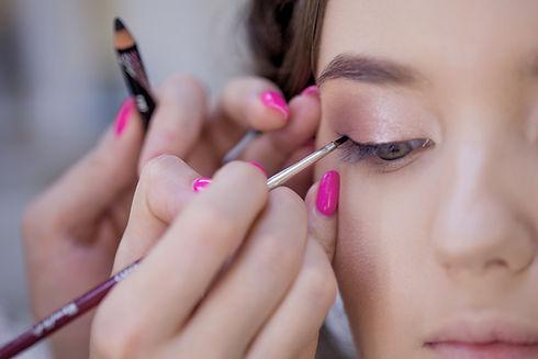 Applying Makeup