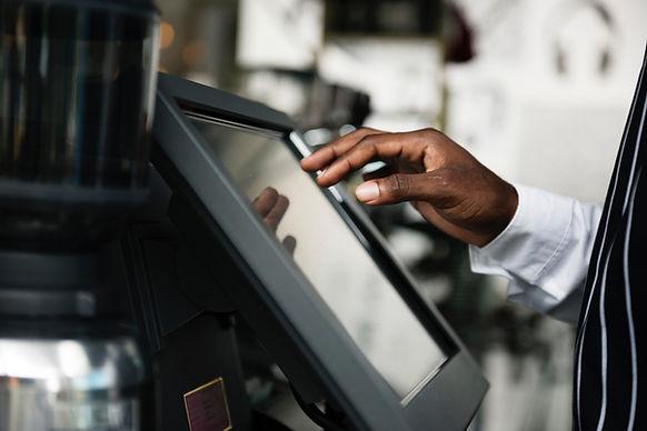 Cashier using Marbitech payment processor