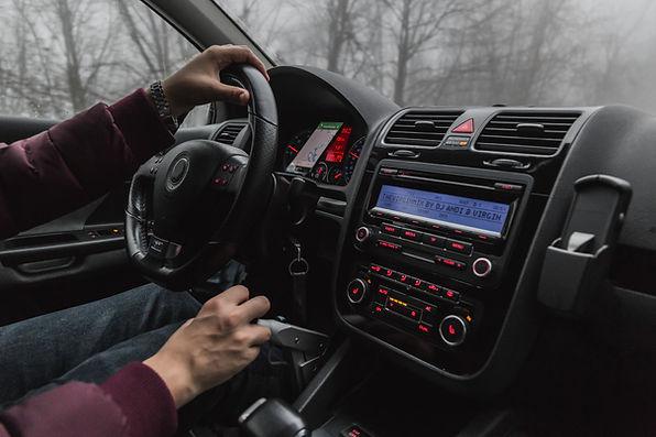 Pokyny pro řídicí panel vozu