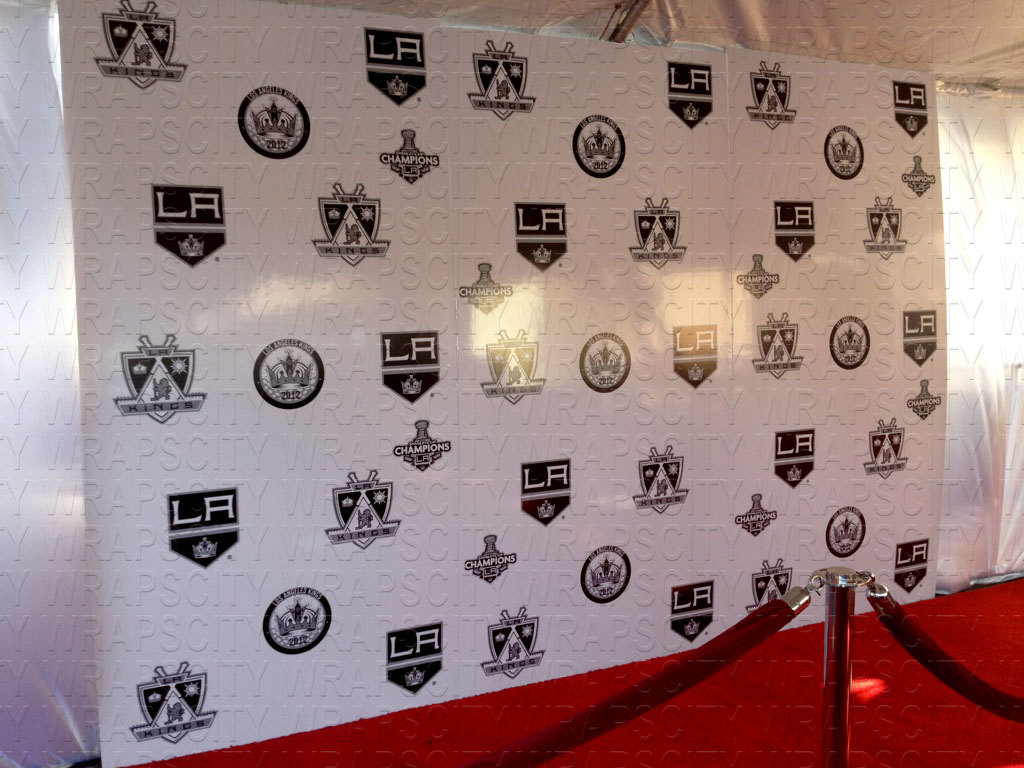 Red Carpet Background Board