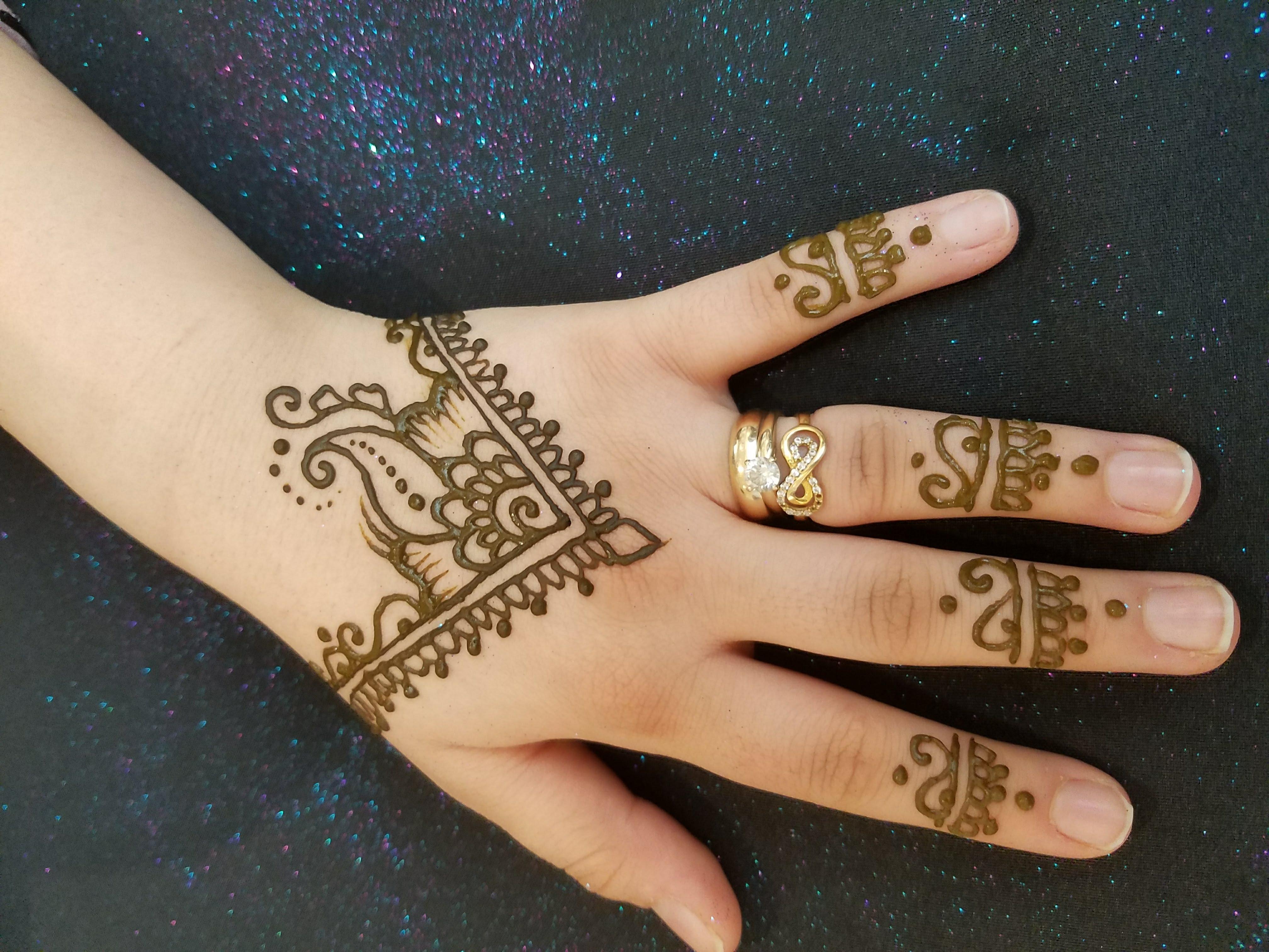 Henna Mehndi Love : Best and beautiful henna mehndi jewellery inspired design tutorial