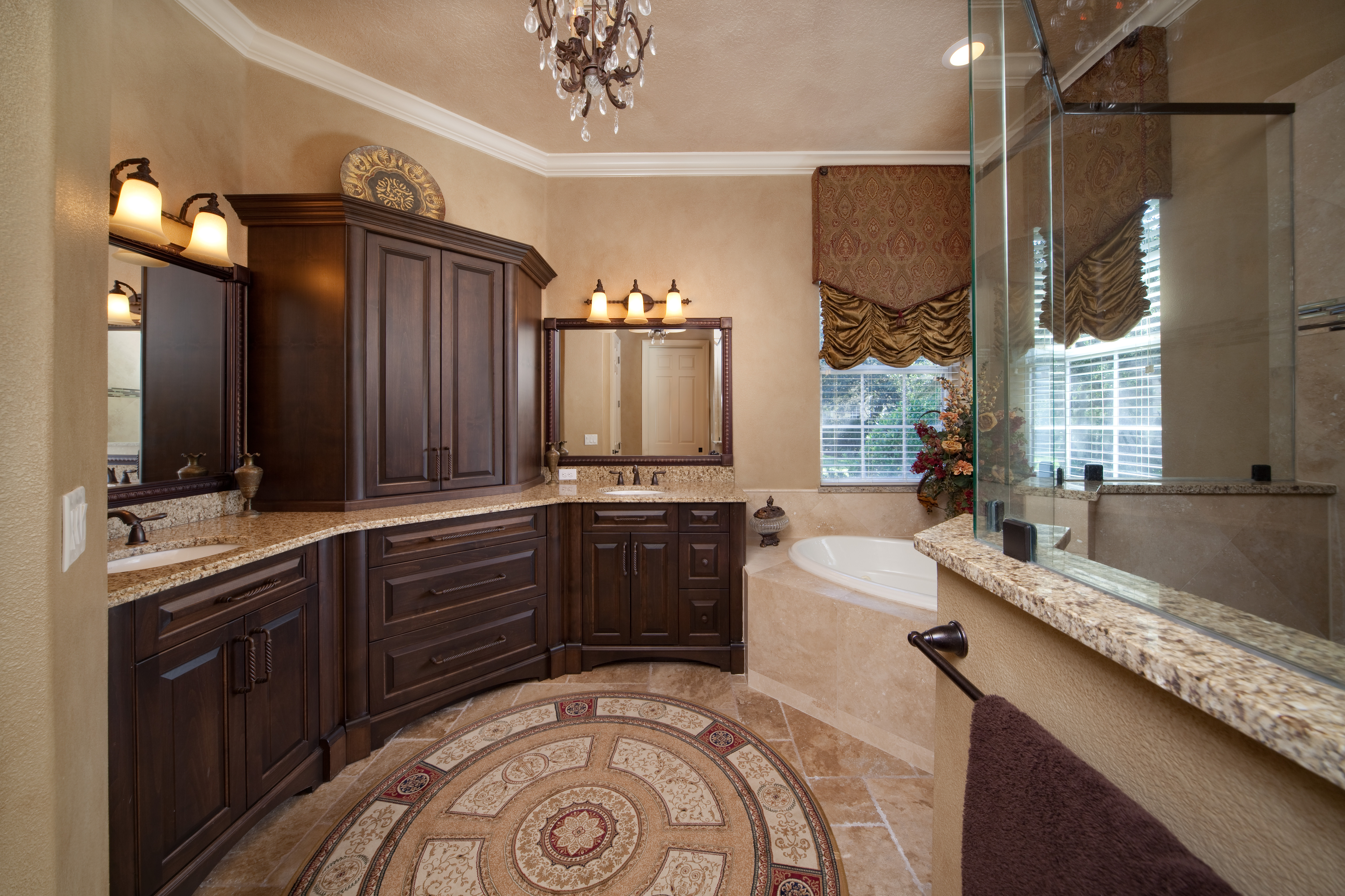 Fortis enterprises master suite bath for Master bath suite