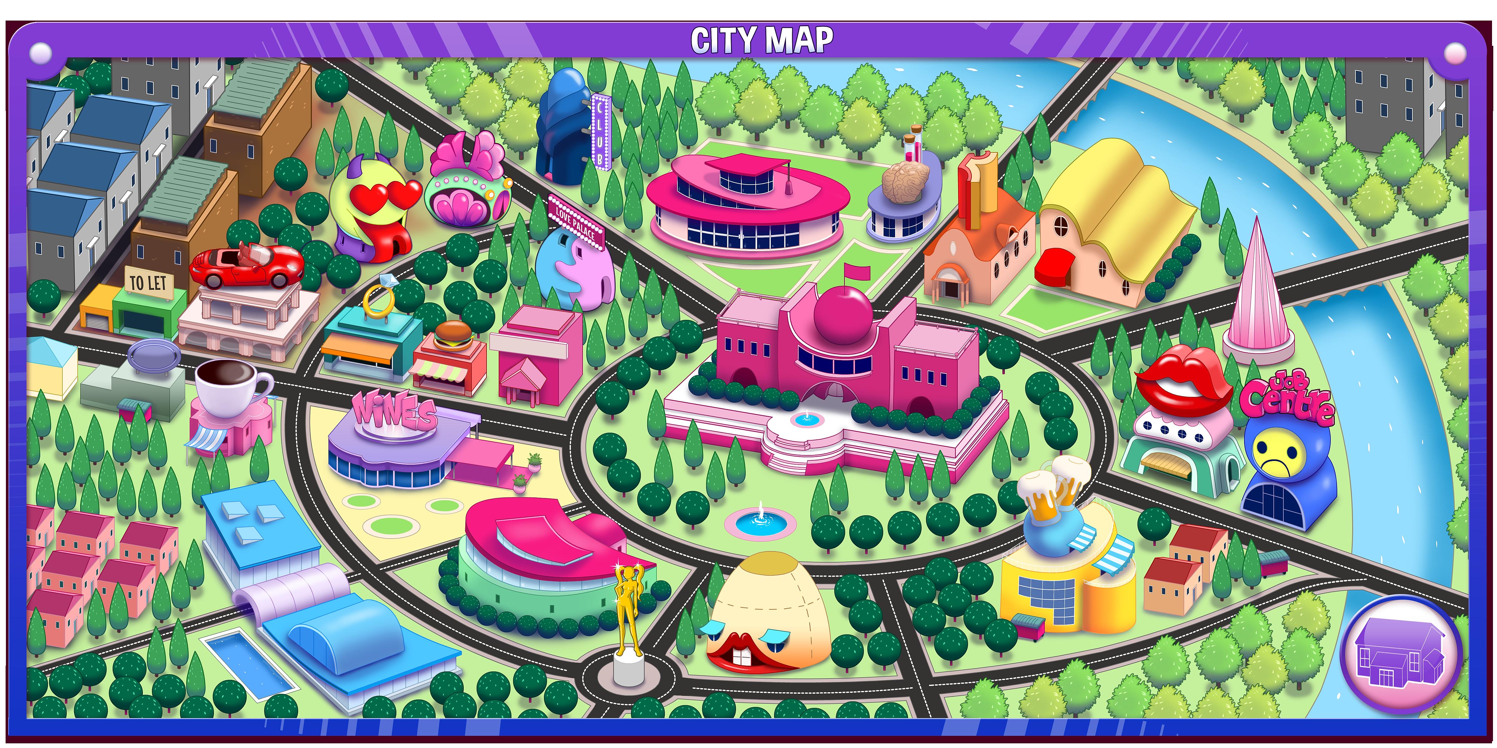 Video Game Map Design