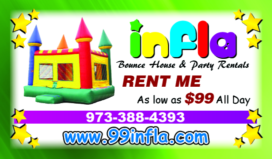 Infla bounce house party rental new jersey for Hollywood mansion party rental