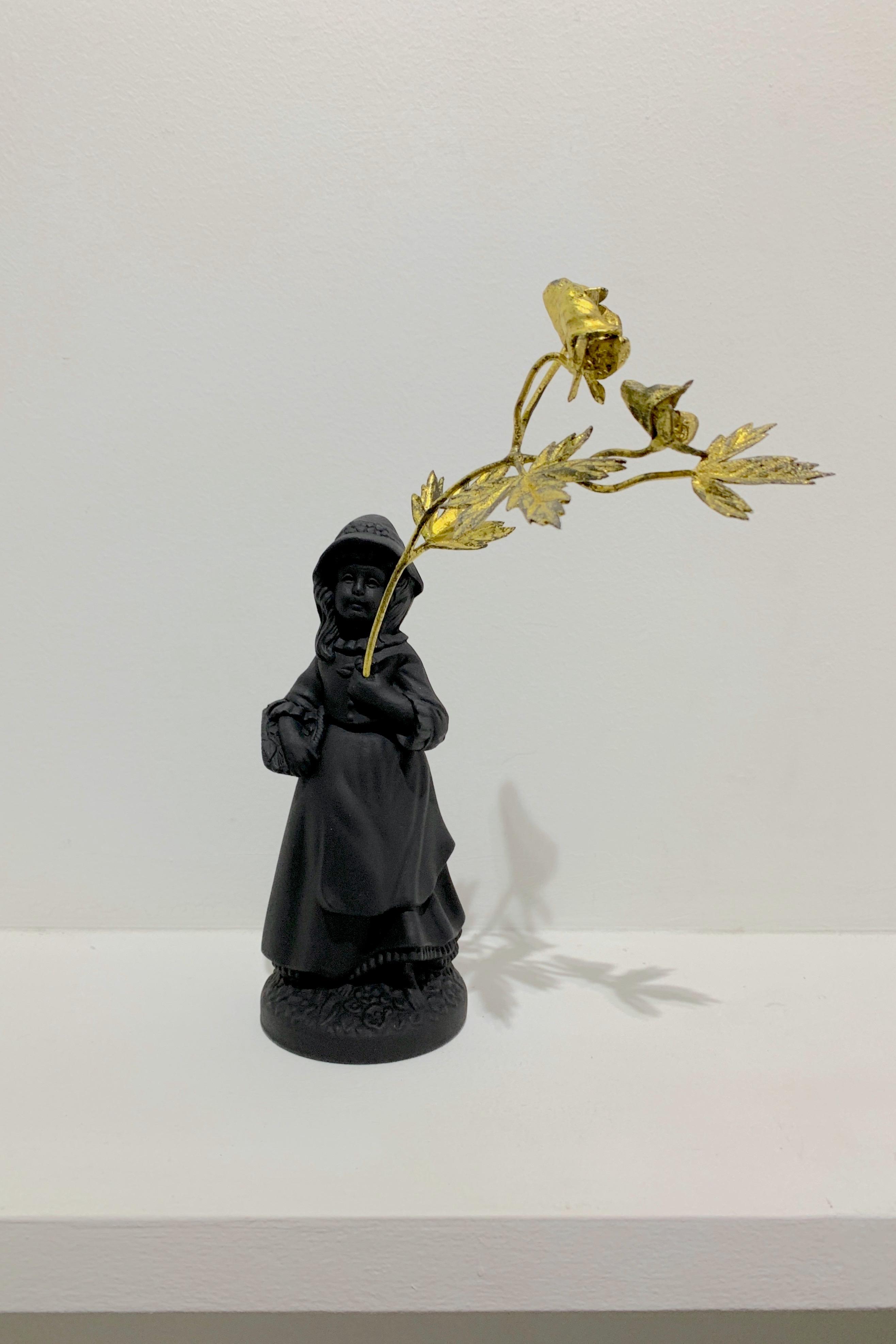 《花を持つ少女》A Girl with a Flower
