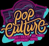 FULL LOGO  w_out glow_Pop Culture Logo.p