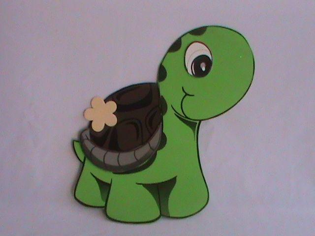 Imagen de una tortuga en foami - Imagui