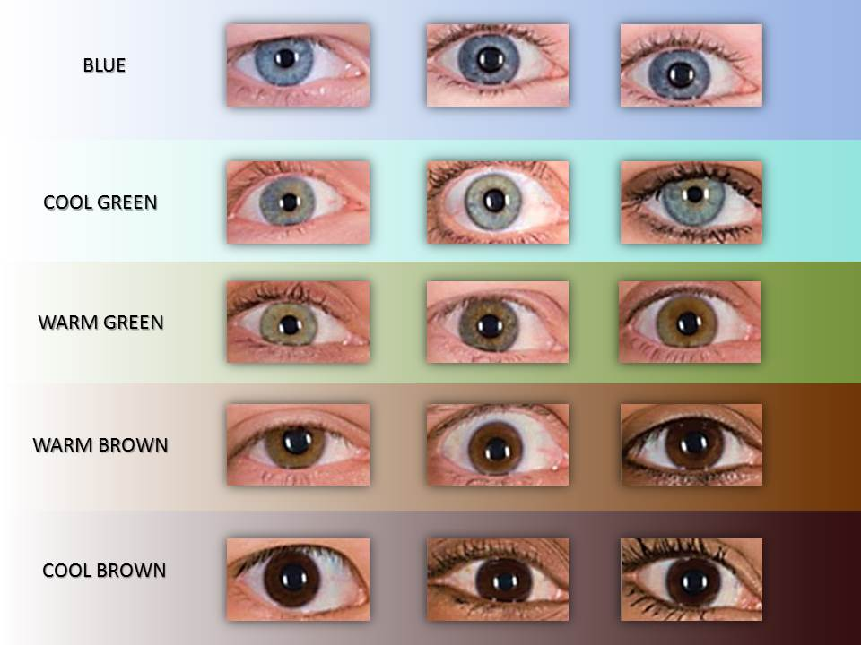 Blue Eye Color Chart