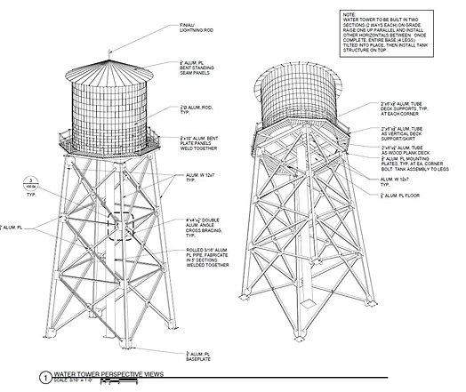 nebula design group fabrication drawings