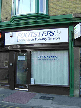 clinics footsteps chiropody and podiatry services on the. Black Bedroom Furniture Sets. Home Design Ideas