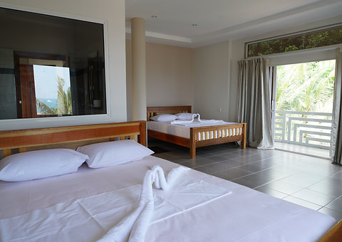 Sea View Suite Two Double Bed