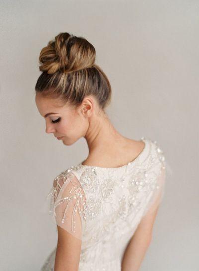 Bien connu 20 modèles de chignon haut pour une mariée. | La Robe de Mariée de  UI02