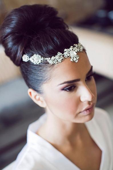 Souvent 20 modèles de chignon haut pour une mariée. | La Robe de Mariée de  CD64