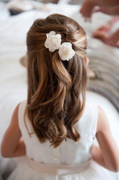 Bevorzugt 15 idées de coiffure de mariage pour petite fille. | La Robe de  YJ61