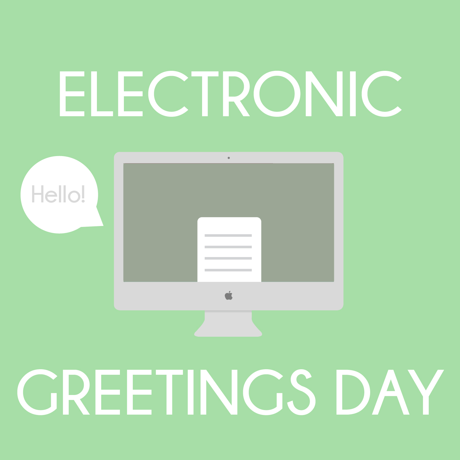 Daily Challenge 15 Electronic Greetings Day Modvdesigns3