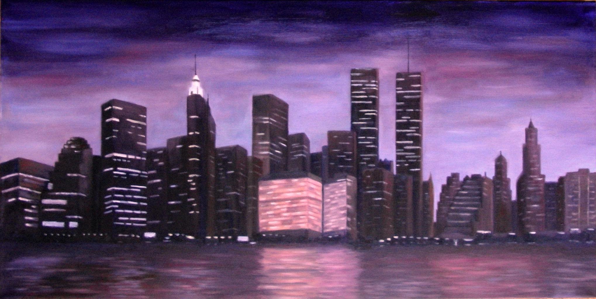 SKYLINE NUEVA YORK-1997