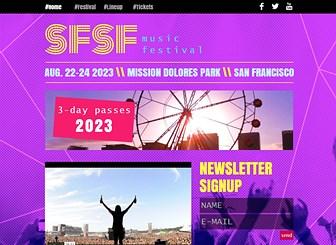 Musikfestival Template - Wählen Sie diese Vorlage, um eine Website für ein Musikfestival oder ein Konzert zu erstellen. Es gibt ausreichend Platz für alle Details, das Line-up und Videos. Es war nie einfacher eine eigene Website zu erstellen. Klicken Sie jetzt, um loszulegen!