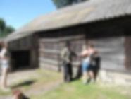 Kruplin - stodoła dziś