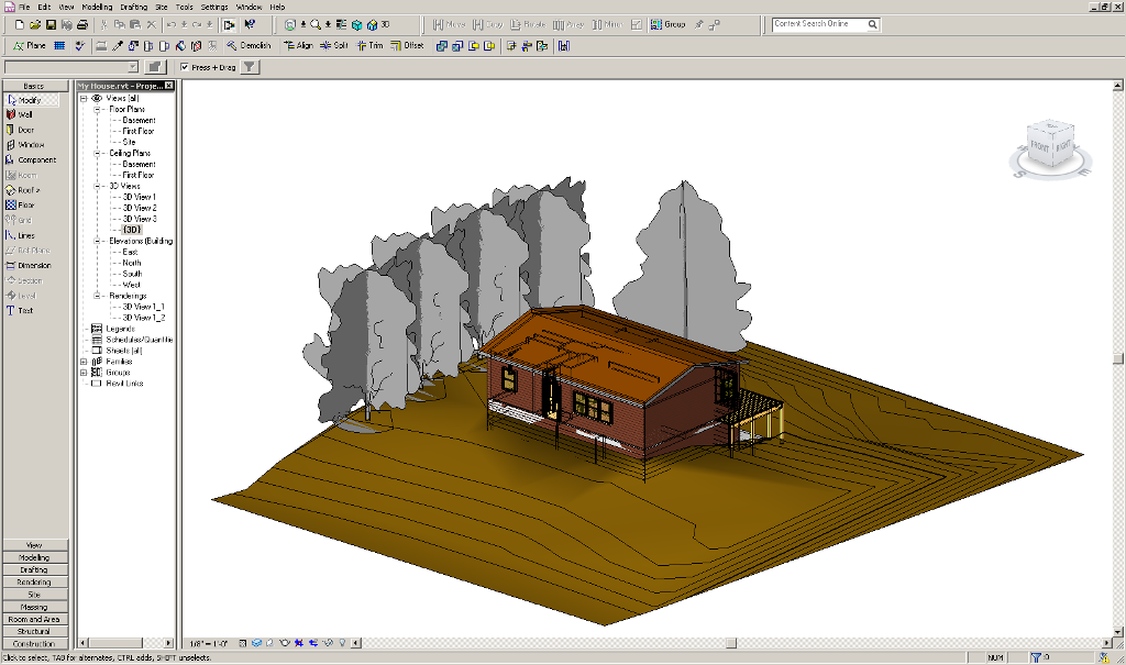 how to create iso in revit