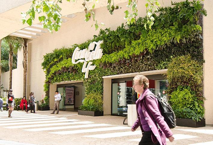Jardin vertical muro verde nico en m xico dise os for Muros verdes verticales