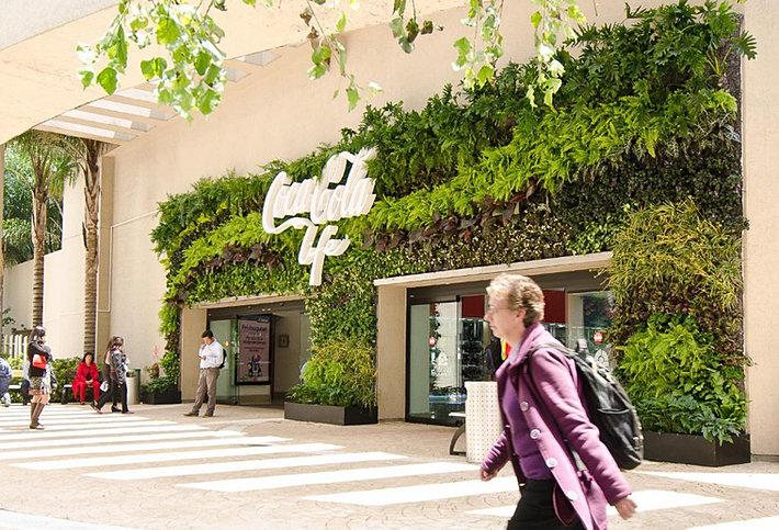 Jardin vertical muro verde nico en m xico dise os for Muros verdes naturales