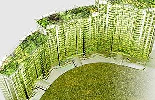 Jardin vertical muro verde nico en m xico dise os for Beneficios de los jardines verticales