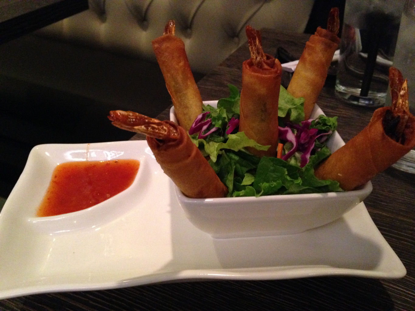 Crispy Shrimp Egg Rolls