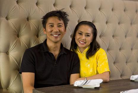 Hue Tran and Ty Chu