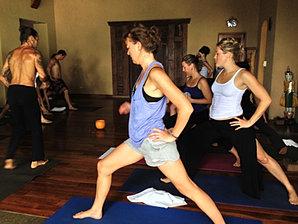 Yoga en Santa Teresa