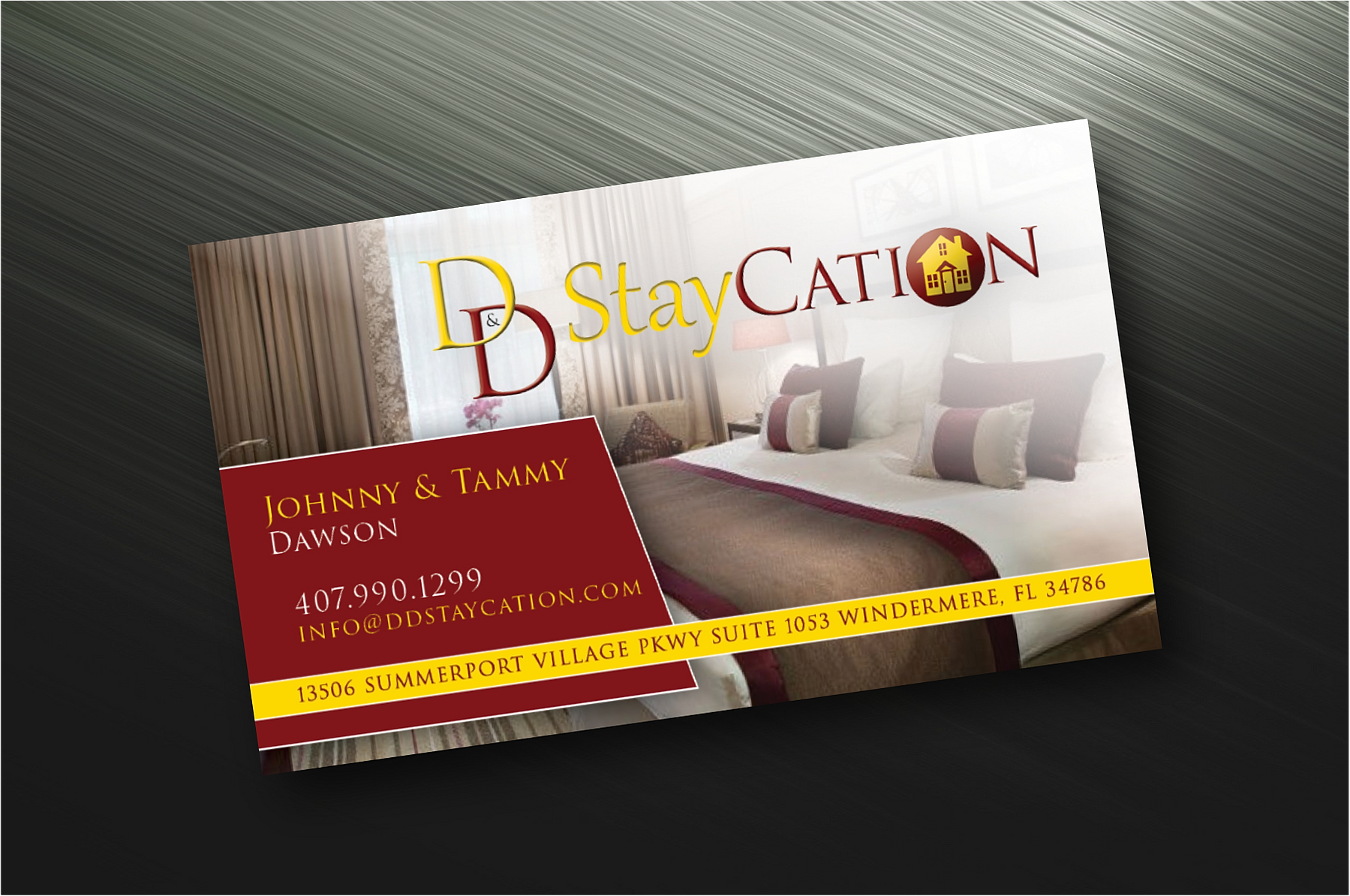 Brandon graphic designs business cards dd staycation reheart Image collections