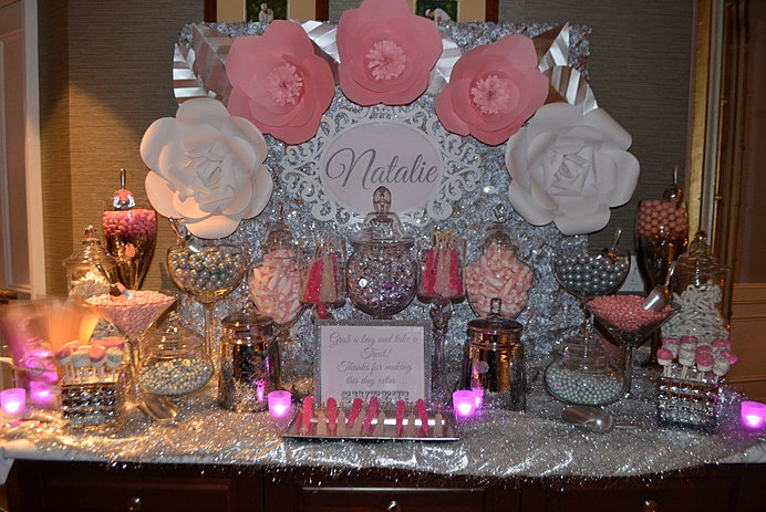 Personalized Custom Backdrop. & Treat Me Sweet Candy Buffets Home Page | Canopies u0026 Backdrops
