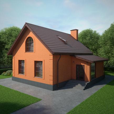 Простые дома проекты фото