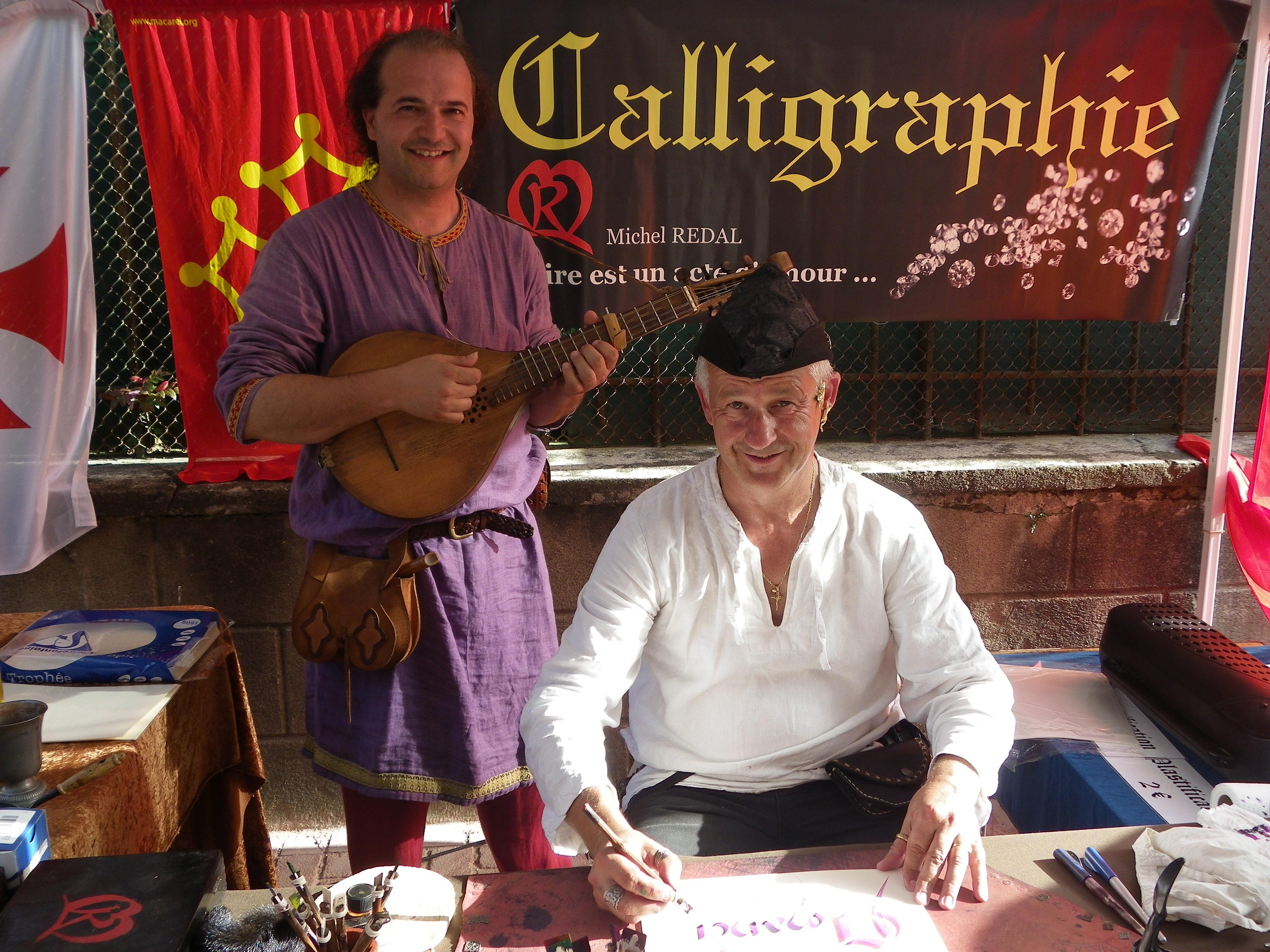 Michel REDAL Calligraphe