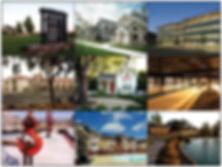 Red Door Inn, Rose Medical Arts Building, Vintage Landing III, One Napa Gateway, Carneros Business Park, Parks at Vine