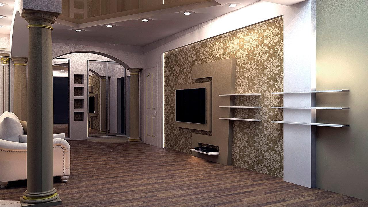 Дизайн потолков с ригелем