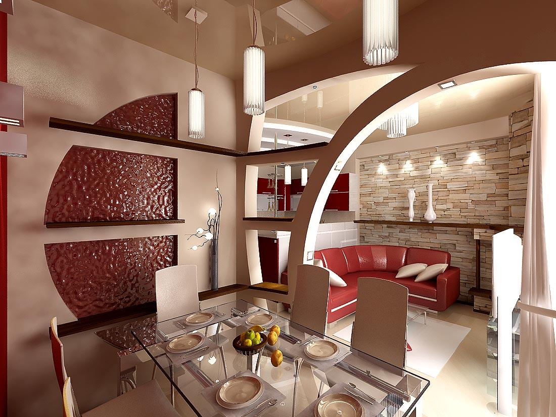 Дизайн столовая кухня фото