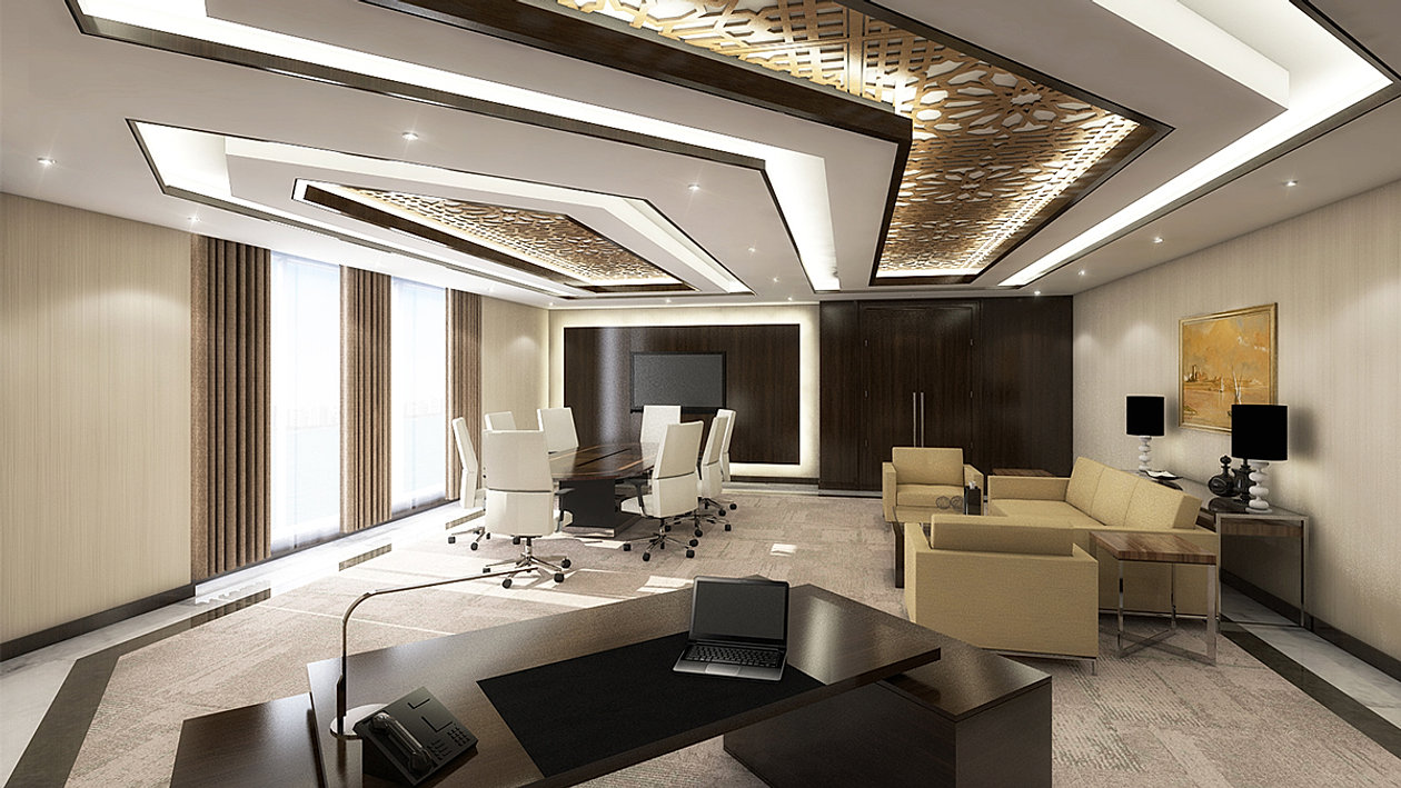 Office interior designers and project delivery specialists for Luxury office interior