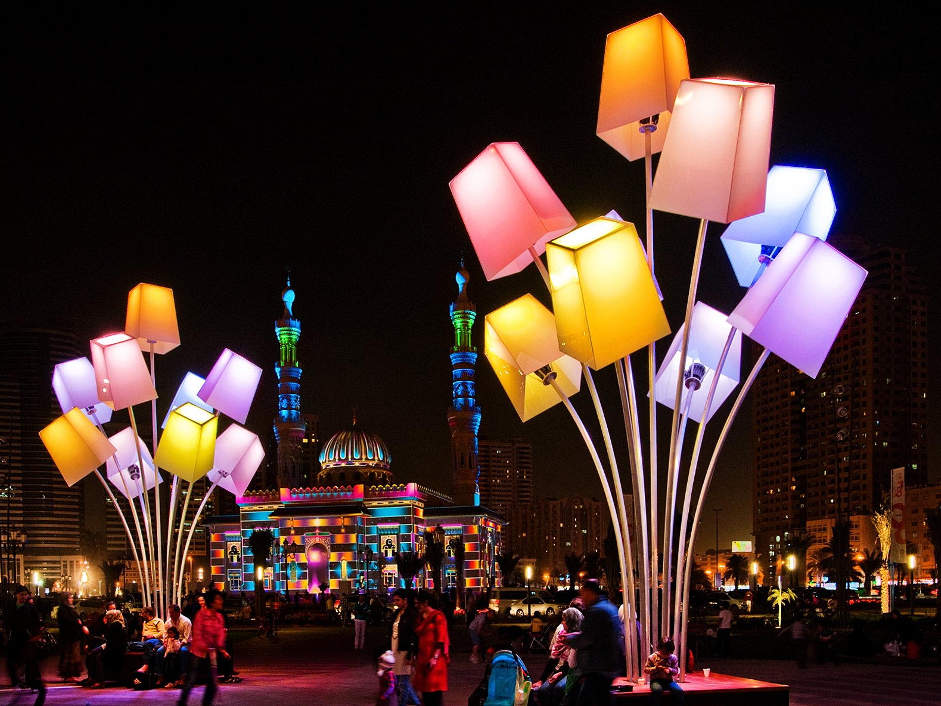 ... Sharjah Light Festival - 2015.jpg ... & Sharjah Light Festival azcodes.com