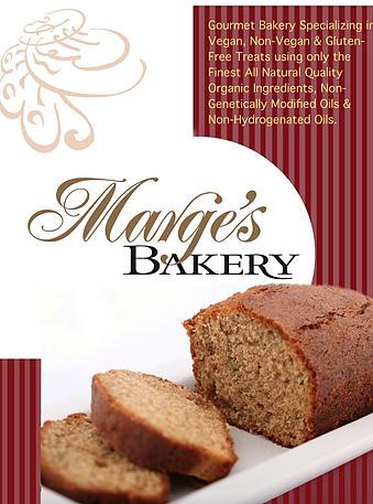 Marge's Bakery Flier