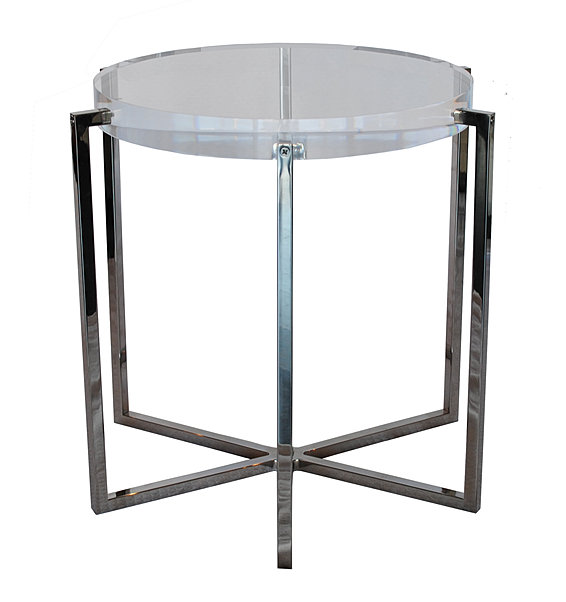 J alexander furniture six legged lucite side table for Table 85 address