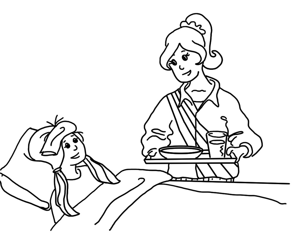 works of mercy coloring pages - photo#26
