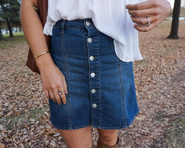Button Details | Everyday Chiffon Fashion