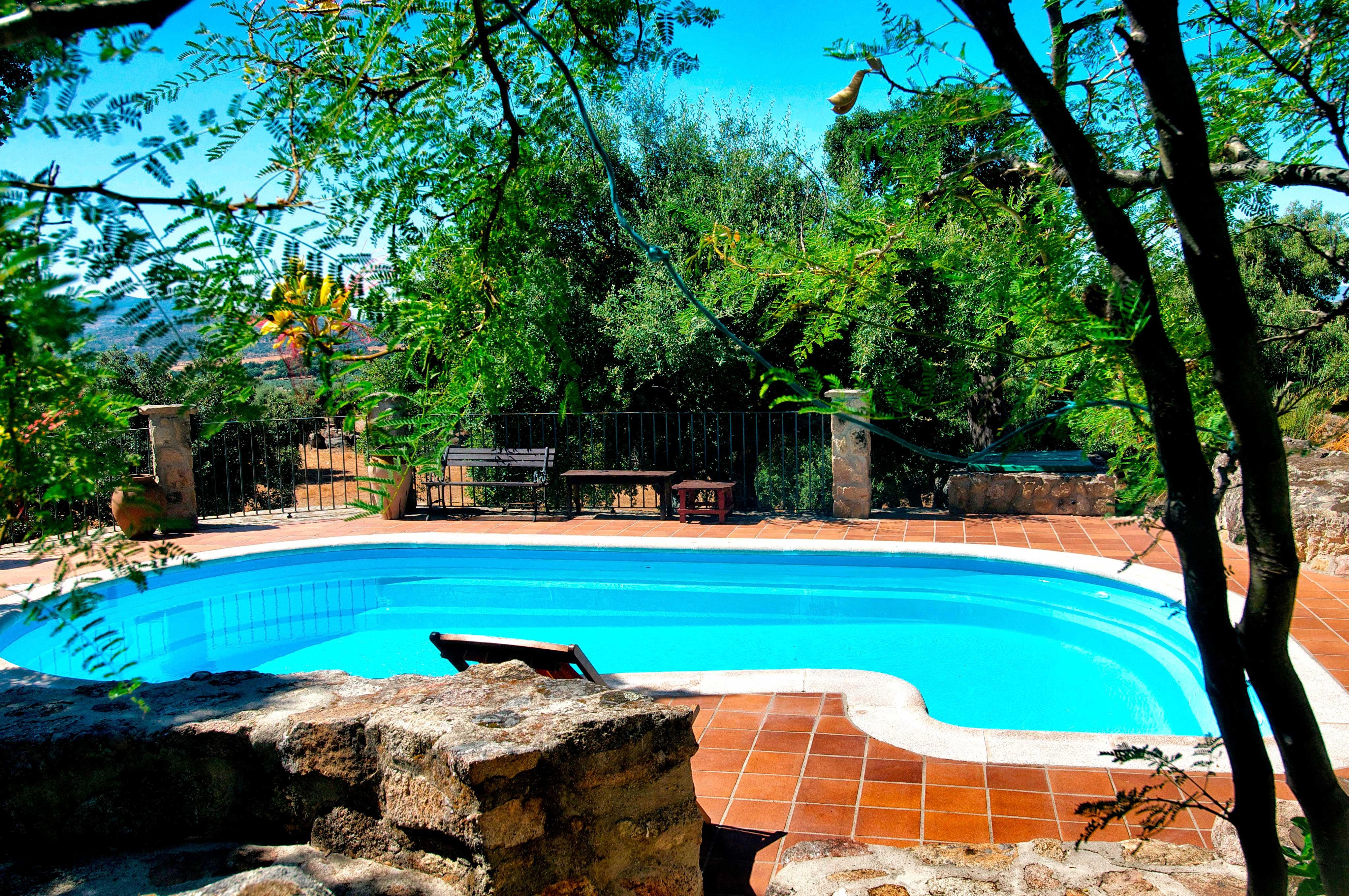 Casa navafr a casa de campo en mont nchez alojamiento en mont nchez casa navafr a turismo - Montanchez casa rural ...